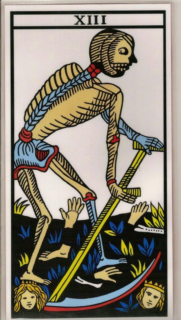 carta de la muerte tarot