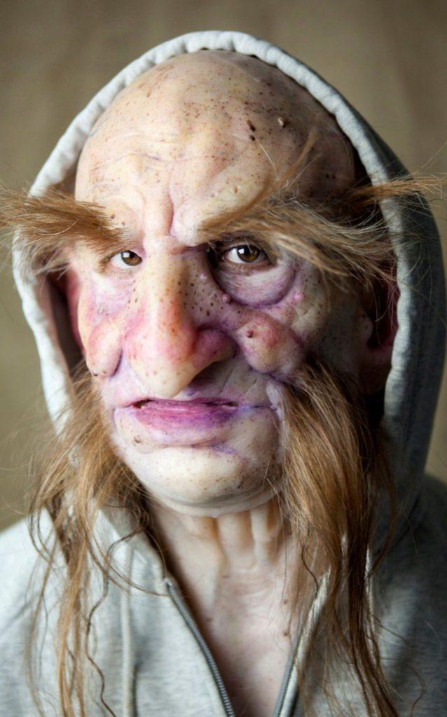 Máscaras de silicona hiperrealistas - Criatura