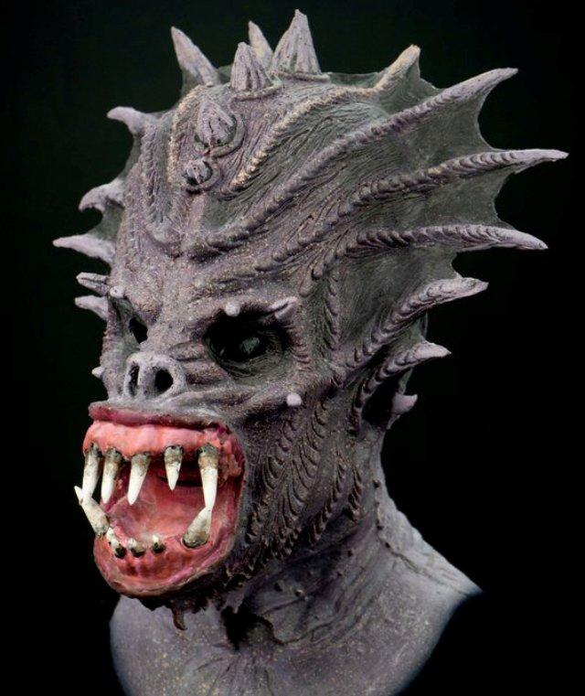 Máscaras de silicona hiperrealistas - Basilisco