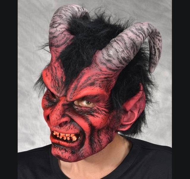 Máscaras de silicona hiperrealistas - Diablo