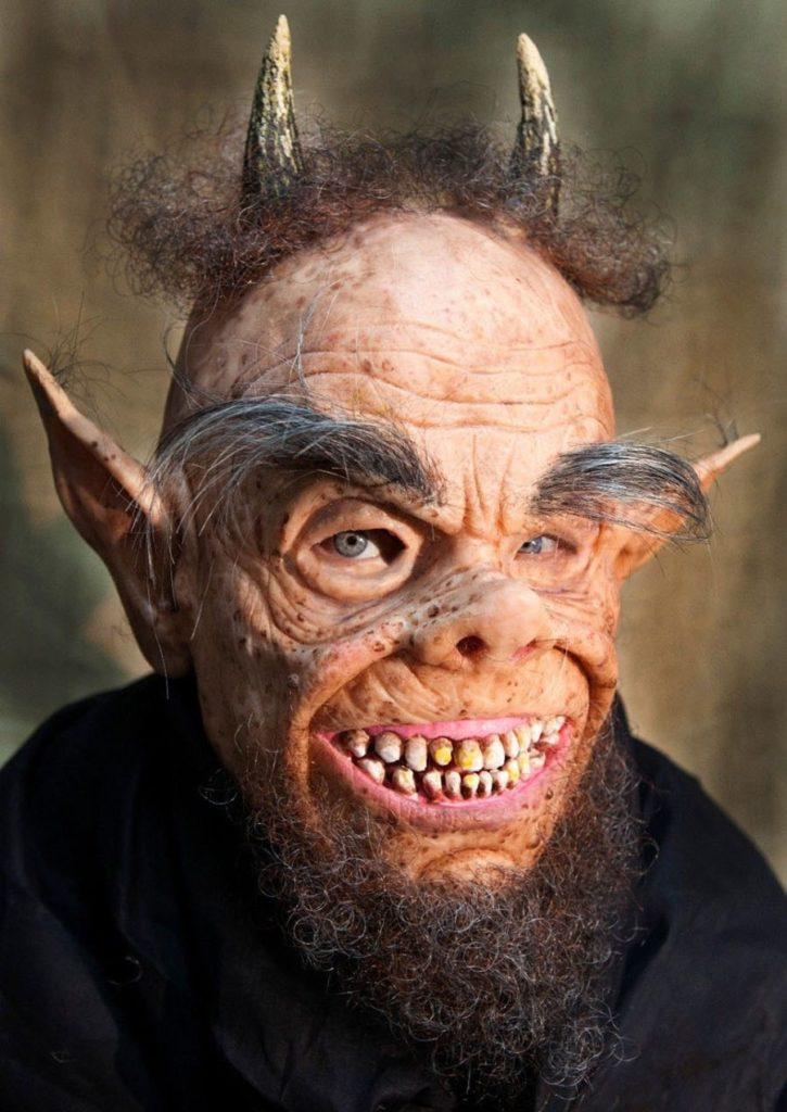 Máscaras de silicona hiperrealistas para Halloween