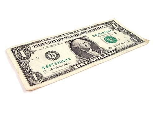 billete de dolar sagrado