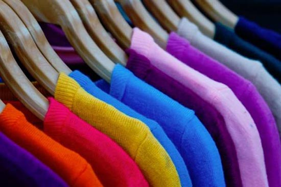 que color de ropa usar