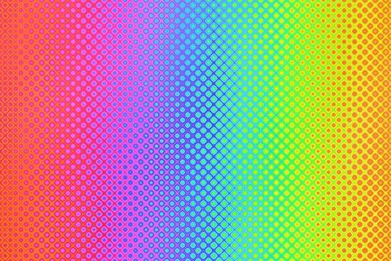 vibración de los colores