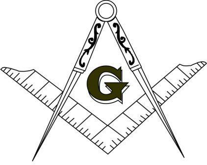 La letra G en la masonería