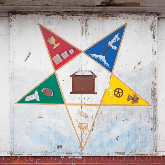 pentagrama o estrella, simbología masónica