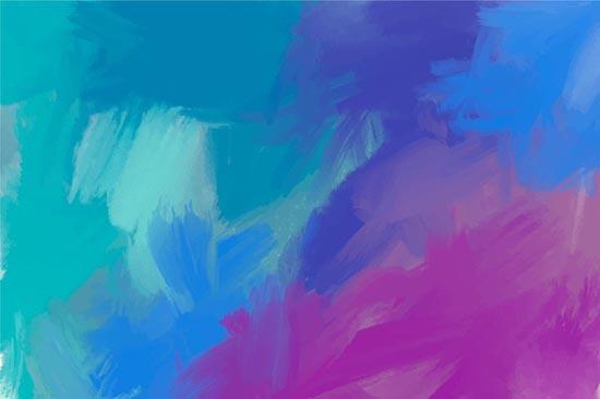 tonos verdes y azules, colores fríos