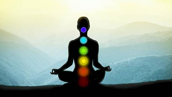 7 rayas, meditación, chakras